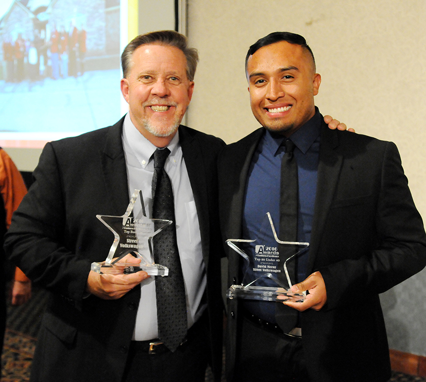 Street Volkswagen of Amarillo, Advertising Director are Honored at Annual Amarillo Chamber of ...